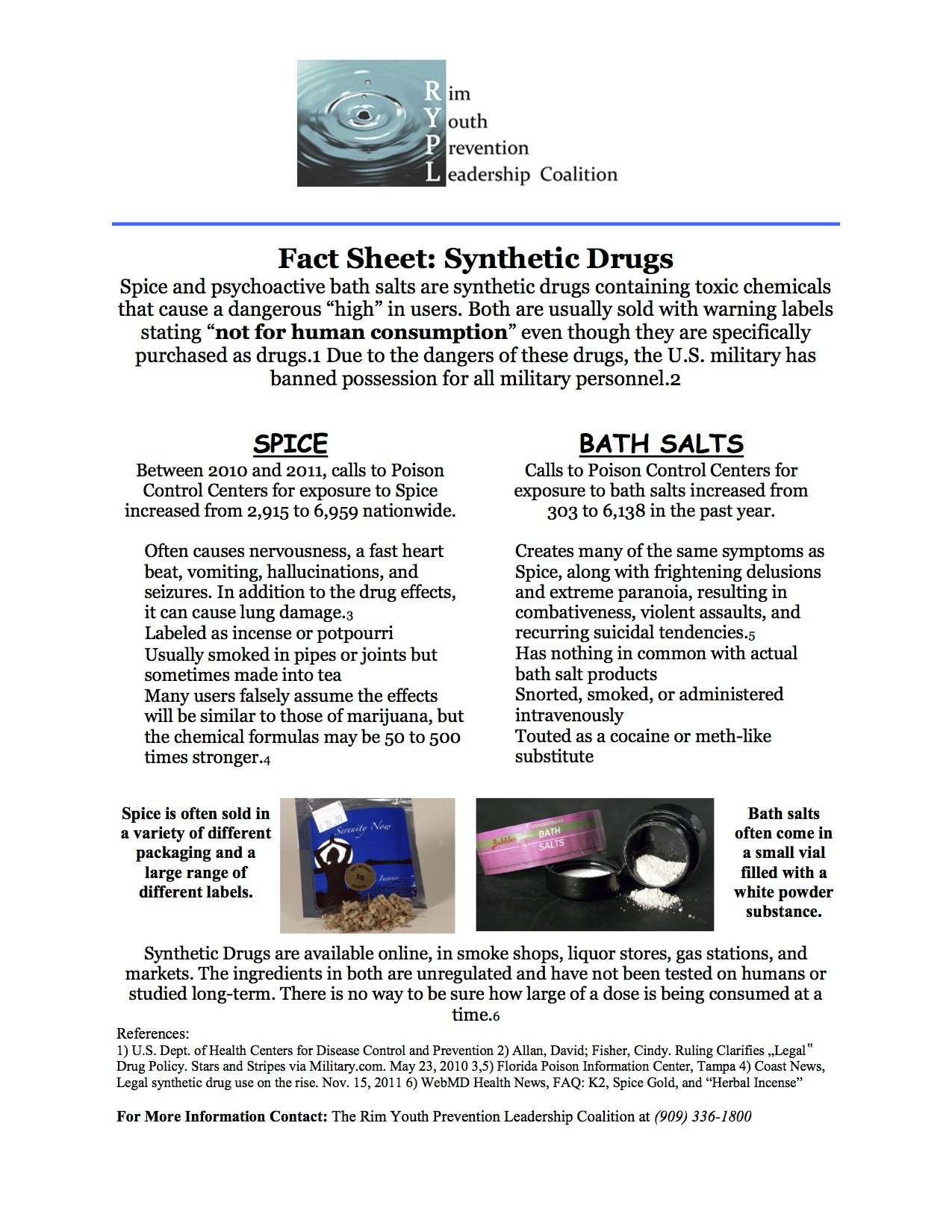 Synthetic Fact Sheet 2012 RYPL